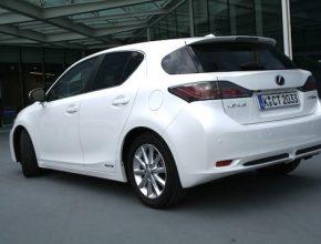 hybridy Lexus CT 200h