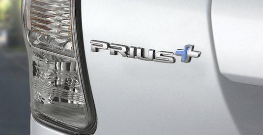 hybrid Toyota Prius+ Plus