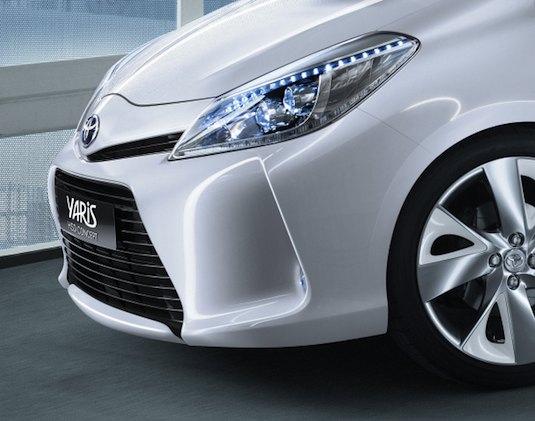 hybrid Toyota Yaris HSD koncept