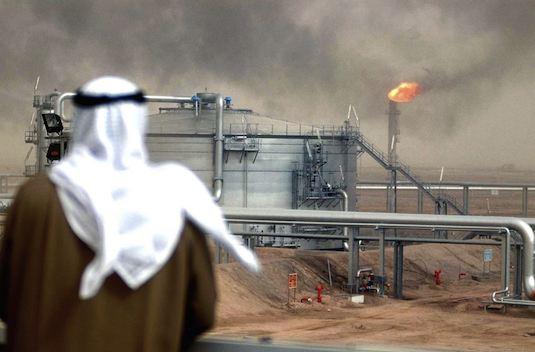 ropný zlom Saudská Arábie ropná rafinerie