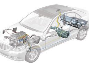 auta na plyn Mercedes Benz E 200 NGT BlueEfficiency