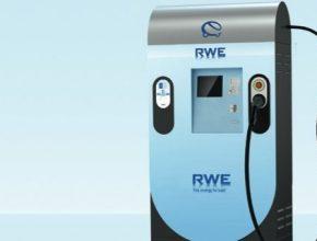 elektromobily rychlo-dobíjecí stanice RWE