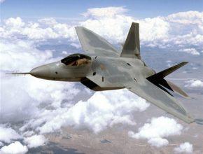 letadla stíhací letound F-22 Raptor