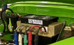 elektrický náklaďák veterán Steam Whistle Retro Electro