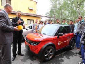 elektromobily Praha elektromobilní Tazzari Zero