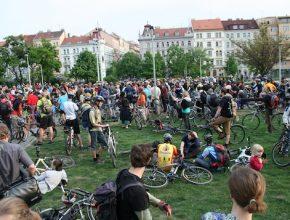 velká jarní cyklojízda Praha Česká republika 2011