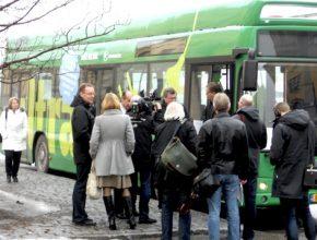 autobusy elektrické Opbrid Arctic Whisperer elektrobus