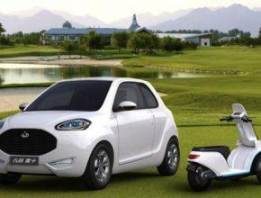 elektromobily Geely McCar