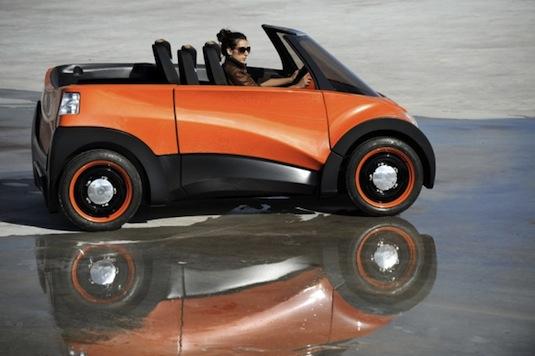 elektromobil QBEAK