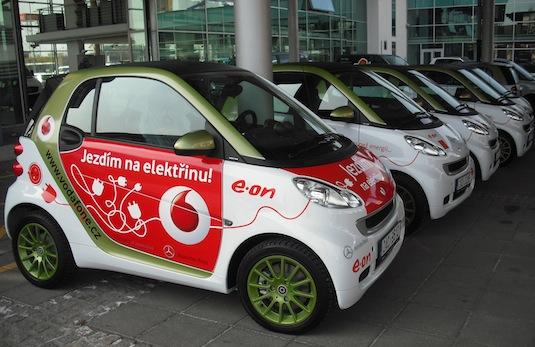 elektromobily Vodafone Smart ed