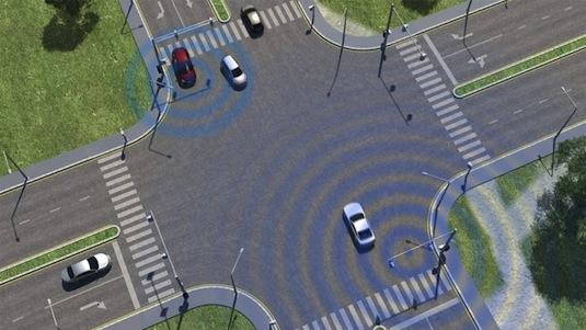 Ford bezpečnost provozu chytrá křižovatka