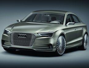 hybridy Audi A3 e-tron sedan