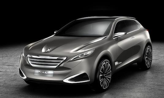 Autosalon Šanghaj: Peugeot představuje hybrid SXC