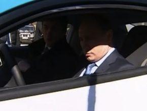 hybridy Vladimír Putin Jo Mobil