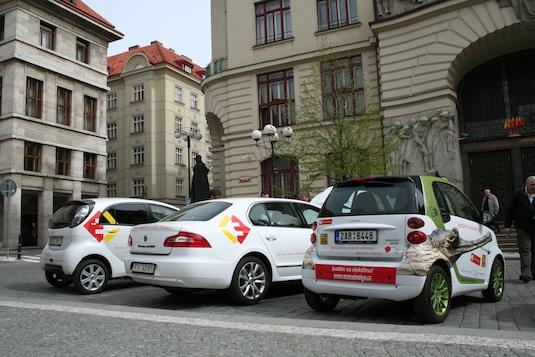 Praha elektromobilní elektromobily