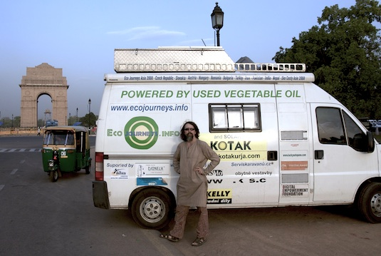 rozhovory Stanislav Miler Ekocesty Nové Dillí Indie