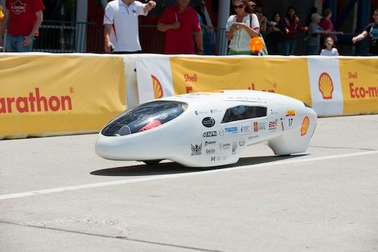 Shell Eco-marathon 2011 vítěz