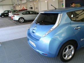test elektromobilů autosalon Ženeva