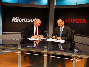 Toyota Microsoft