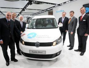 auto dodávka elektrická Volkswagen e-Caddy Hannover