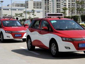 elektromobily BYD e6 taxi