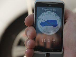 elektromobily EVC Group aplikace mobil chytrý telefon