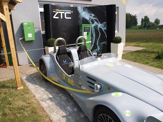 Kaipan VoltAge dobíjení elektromobilu