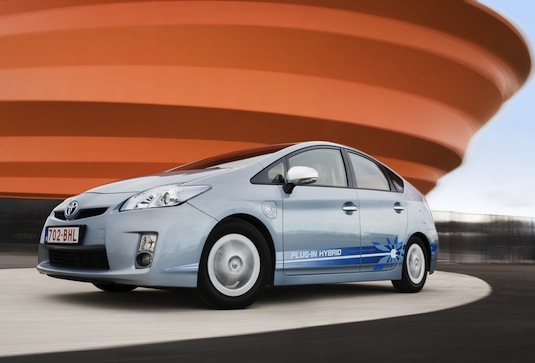 Toyota Friend plug-in Prius hybrid