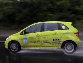 auto na vodík Mercedes-Benz třídy B F-Cell