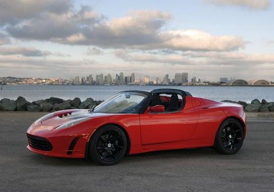 auto elektromobil Tesla Roadster Sport