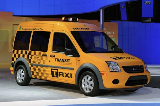 auto Ford Transit Connect auto na plyn CNG