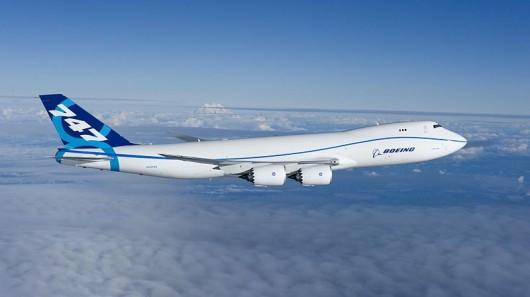 Boeing 747-8 biopaliva nákladní letadlo