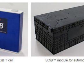 elektromobil SCiB baterie Toshiba