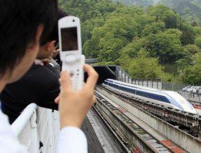 Maglev Japonsko Tokyo Nagoya Osaka vysokorychlostní trať rychlovlak