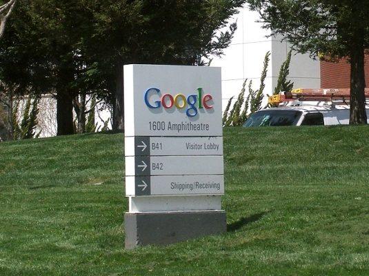 Rozcestník Google