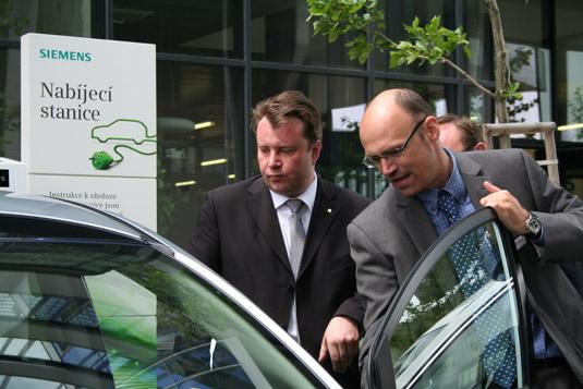 Ministr průmyslu a obchodu Martin Kocourek