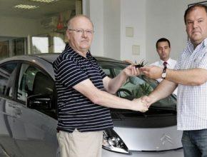 auto elektromobil Citroen C-Zero první soukromý majitel