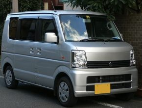 auto elektromobil Suzuki Every Japonsko mikro-elektrická dodávka