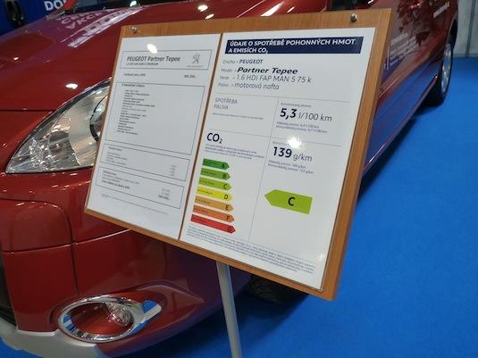 auto Peugeot Partner Teepee
