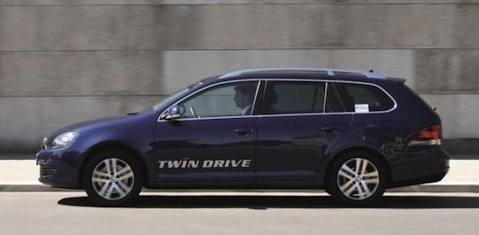 auto Volkswagen Golf TwinDrive plug-in hybrid