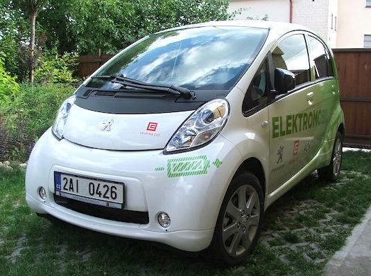 elektromobil Peugeot iOn