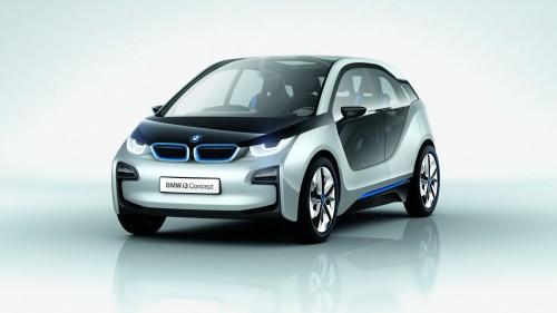 auto elektromobil BMW i3 plug-in hybrid