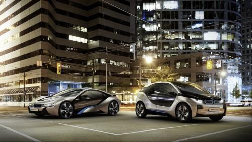 elektrmobil BMW i3