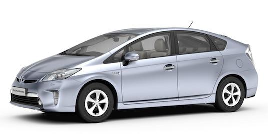 auto hybrid Toyota Prius Plug-in hybrid