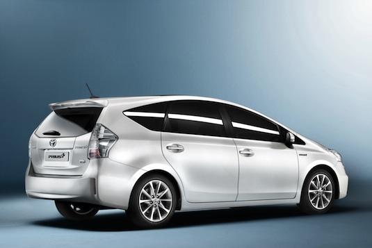 auto hybrid Toyota Prius +