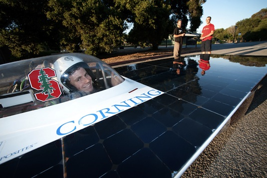 solární auto Xenith--
