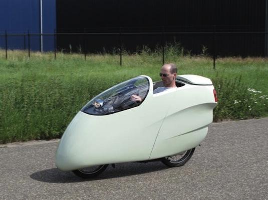 motorka Honda přestavba