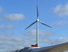 továrna větrná turbína Ford Dagenham