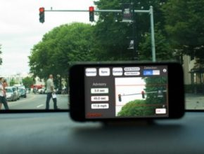 snímání semaforů chytrým telefonem