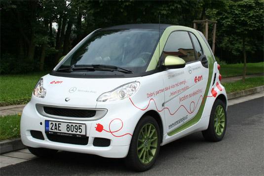 Elektromobil smart ED